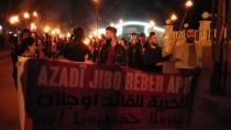 Ciwanên Qamişlo ji bo Ocalan meşiyan