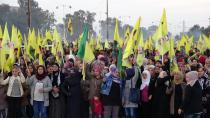 Li Hesekê ji bo Ocalan meşek girseyî hate lidarxistin
