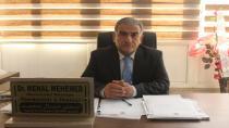 Dr. Menal Mihemed bê pere pêşwaziya rewşên lezgîn û niştergeriyê dike