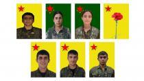 YPG'ê 7 şehîdên pêngava rizgarkirina Minbicê bi bîr anîn