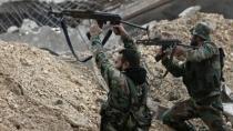 Di navbera hêzên hikumeta Sûriyê û çeteyan de şer