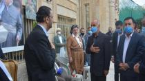Şandeya Rojava serdana taziyeya Şêx Mihemed Kesnezanî kir