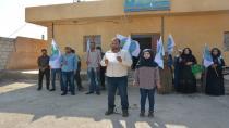 Ciwanên Partiya Pêşerojê ya Sûriyê li Şedadê tev li hemleyê bûn