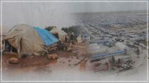 Li Bakur û Rojhilatê Sûriyê zêdeyî milyonek koçber ji alîkariyan bêpar in