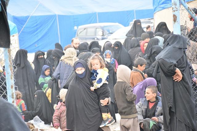 Будни лагеря Аль-Холь