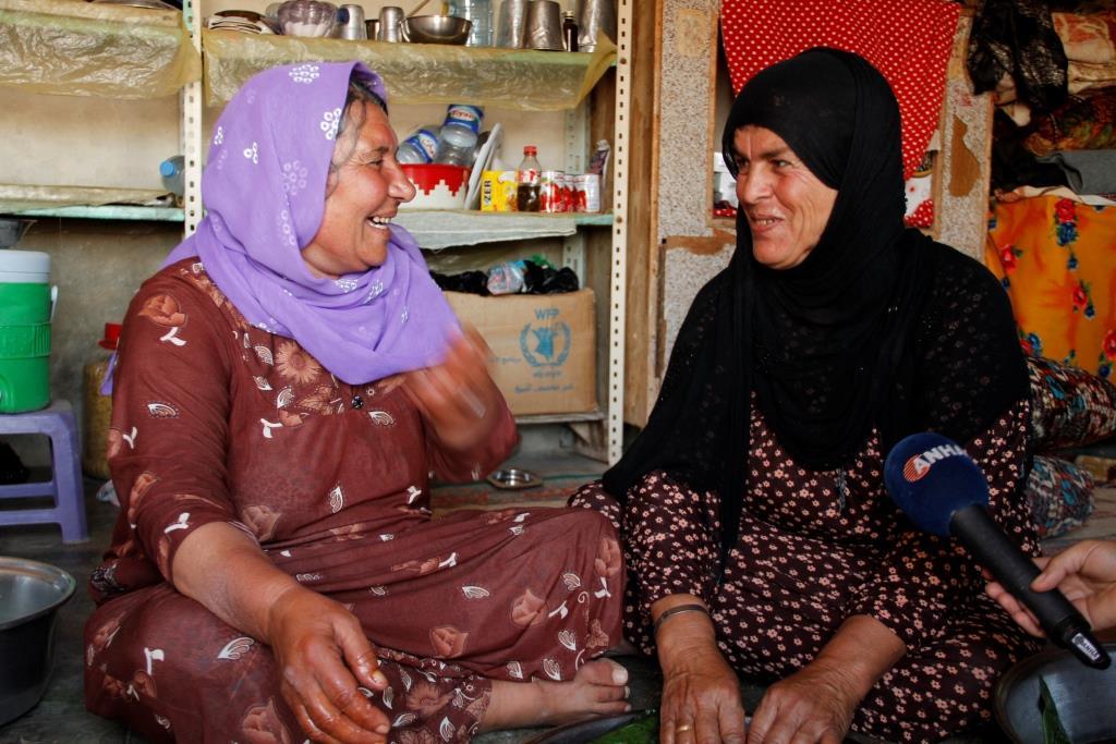 Сорокалетняя дружба двух женщин, езидки и мусульманки