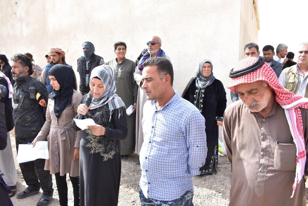 Жители Дейр-эз-Зора провожают в последний путь героев из аль-Бахоза