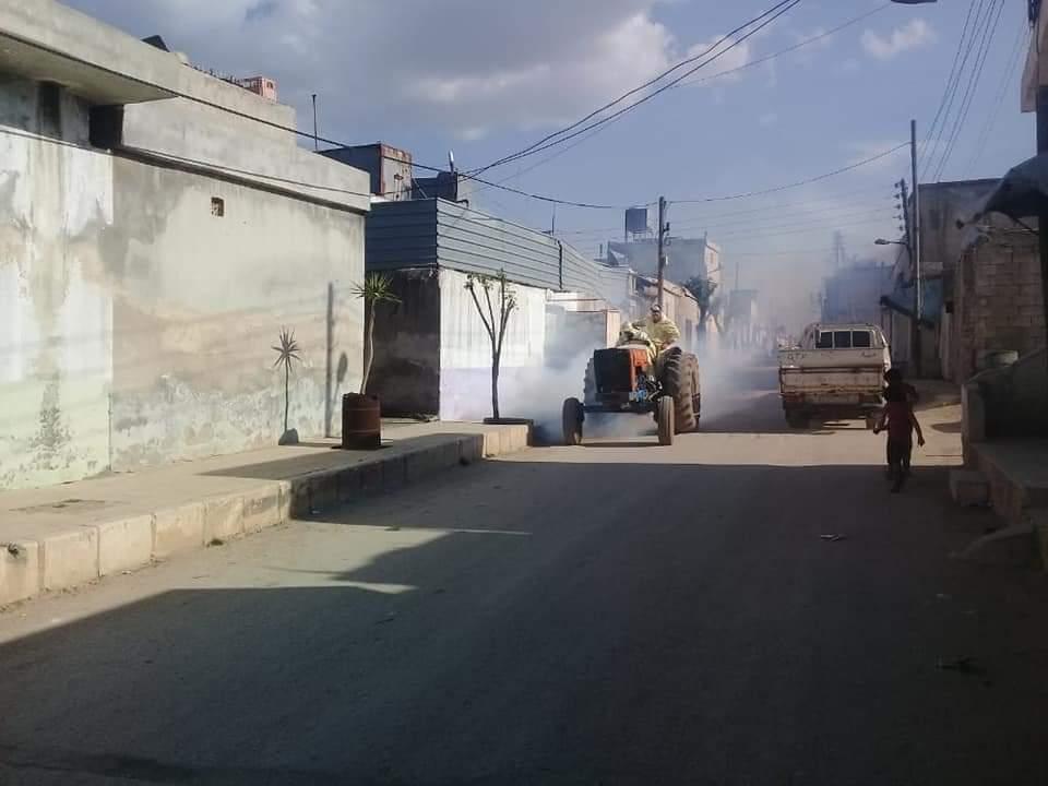 Блокада, введенная правительством Сирии, препятствует проведению работ в Шахбе
