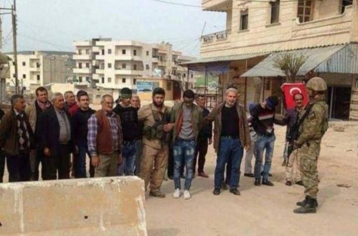 Оккупанты похитили 3 мирных жителей в Африне