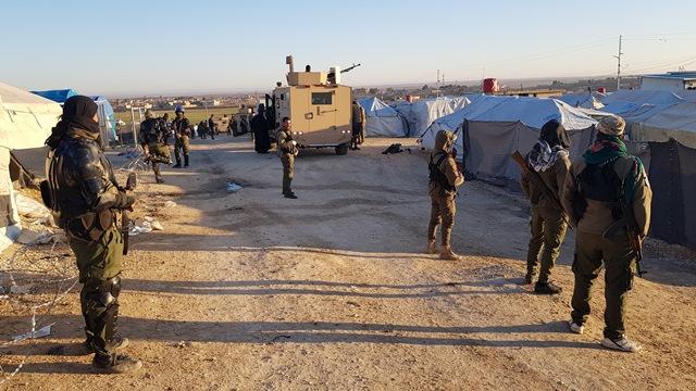 Гедо: «Лагерь Аль Холь стал тренировочным центром ИГИЛ»