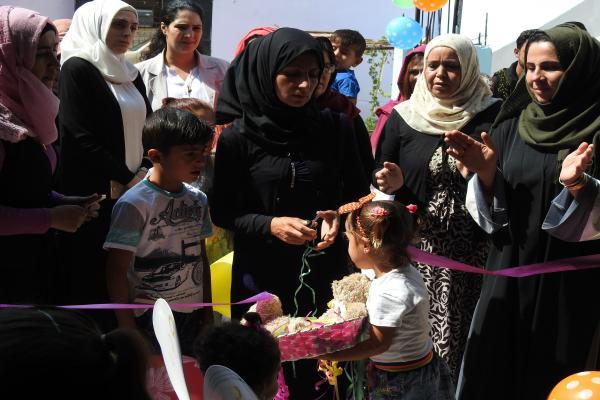 Girê Spî'de çocuk bahçesi açıldı