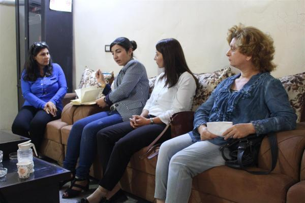 Kadın Komitesi Hol Kampı'nı ziyaret etti