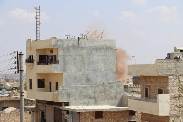 İşgalciler Şêrawa'da sivillerin evlerini bombalıyor - YENİLENDİ