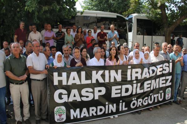 Mardin'de 29'uncu gün: Kürt sorunu çözülmeden hiçbir sorun çözülmez