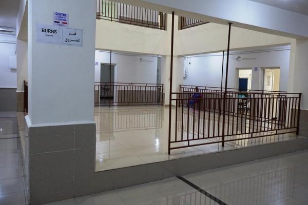 Reqa Wetenî Hastanesi'nde iki yeni bölüm açıldı