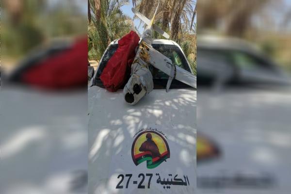 Türkiye'ye ait İHA Trablus'ta düşürüldü