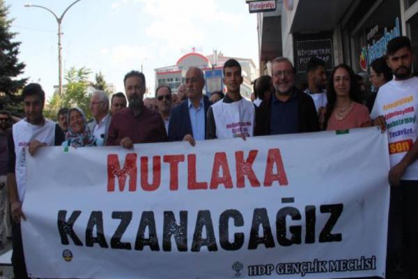 Gaspa karşı Van halkının direnişi sürüyor