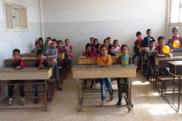 El Deşîşe'de okullar 8 yıl aradan sonra yeniden açıldı