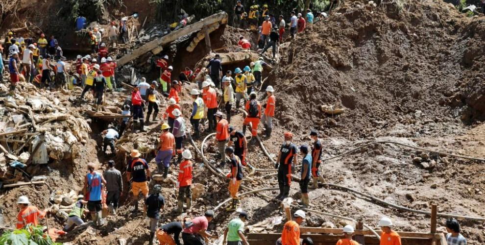 Filipinler'deki kasırgada ölü sayısı 74'e yükseldi