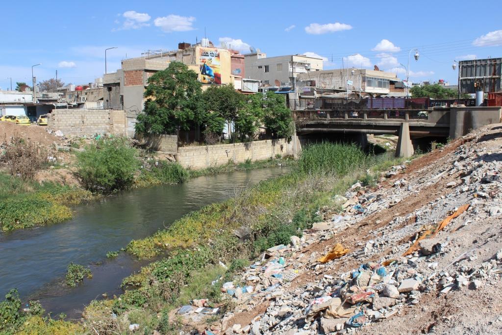 Qamişlo'ya hayat veren Cekcek şimdilerde hastalık kaynağı