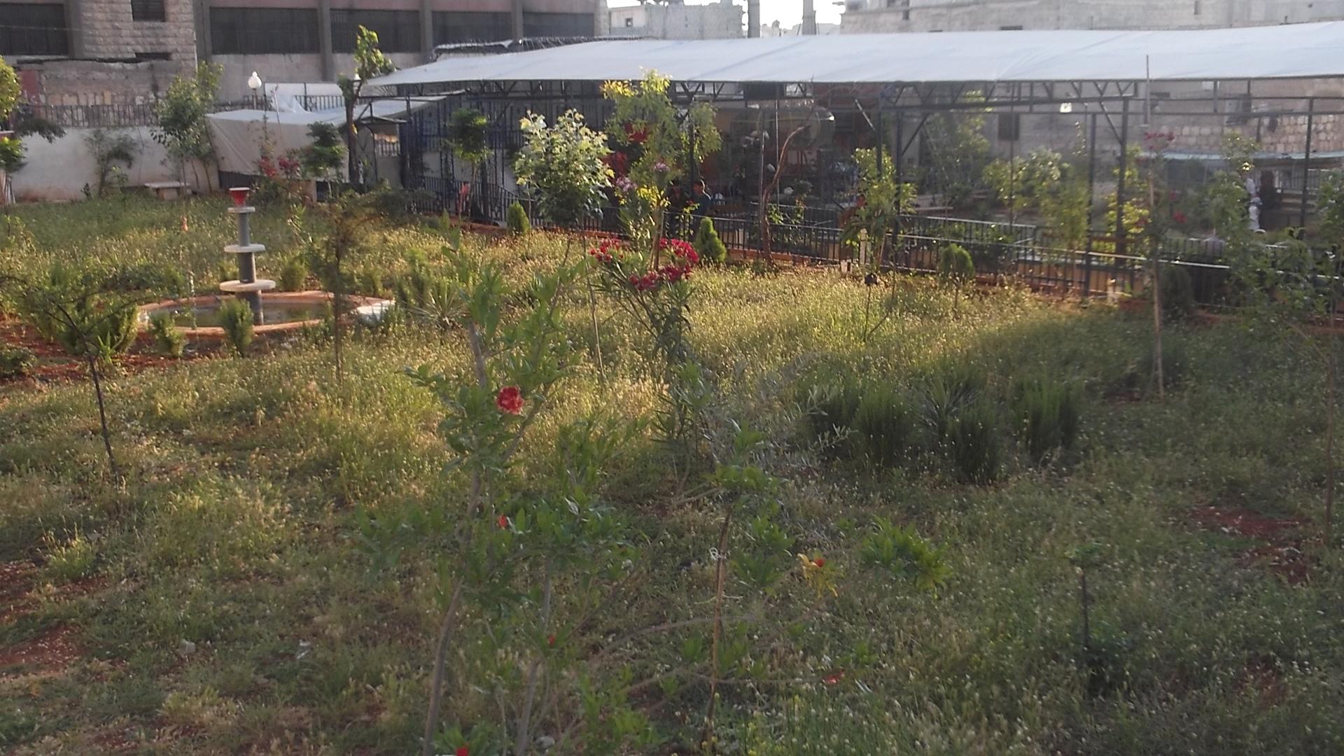 Arin Mirkan Parkı yeniden inşa edildi