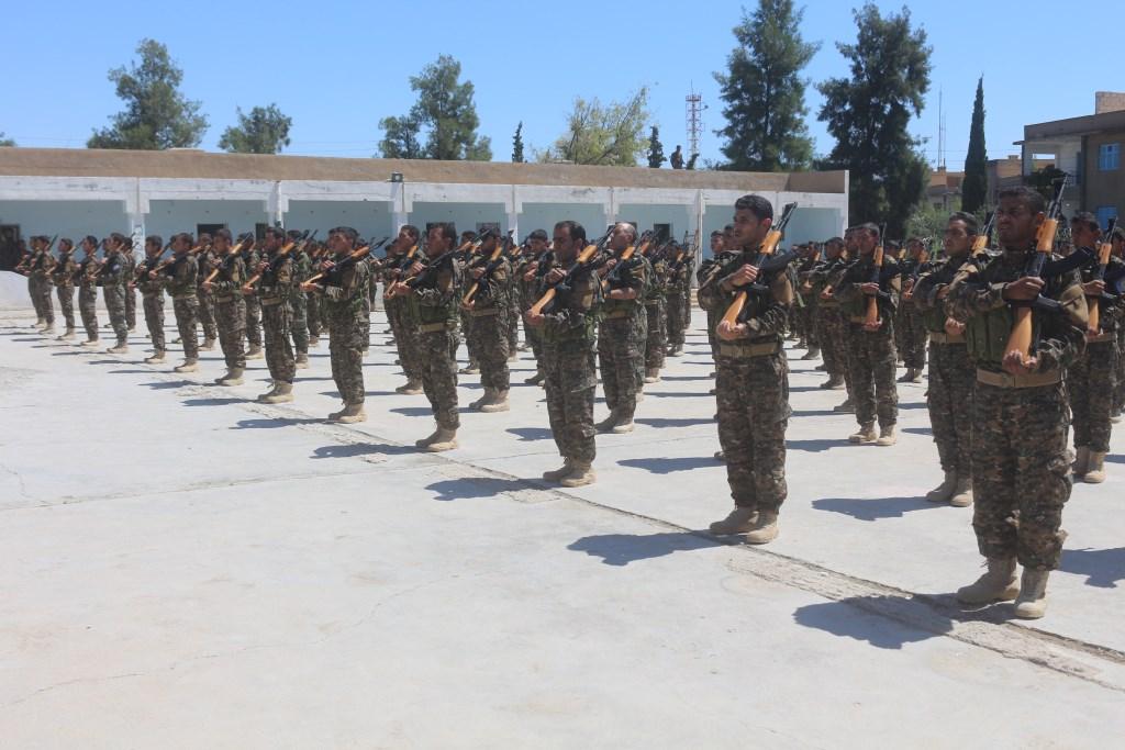 188 savaşçı Minbic Askeri Meclisi'ne katıldı