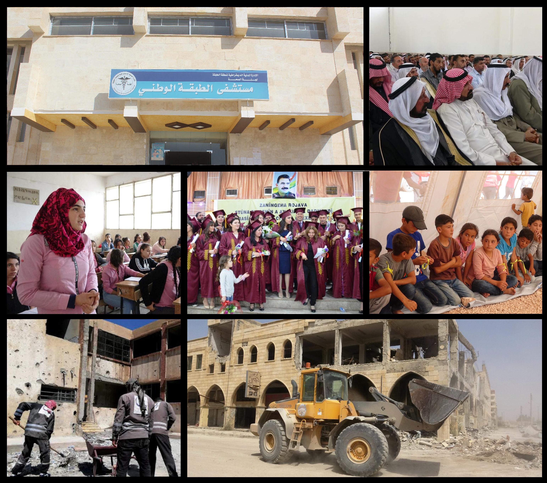 Panorama…Kuzey ve Doğu Suriye'de 2018'de toplumsal alandaki gelişmeler