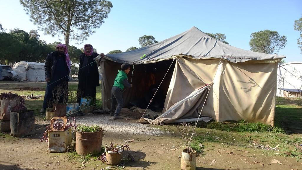 Yarup Kampı'ndaki göçmenler yardım bekliyor