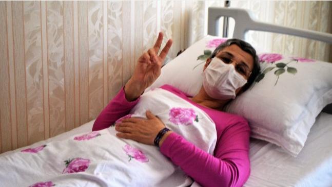 Leyla Güven'in açlık grevi eylemi 168'nci gününde