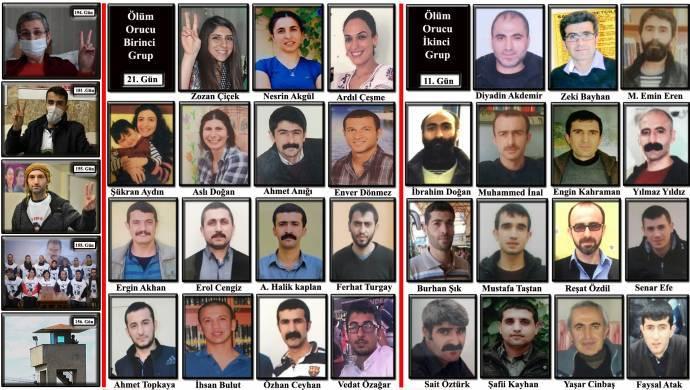 Leyla Güven'in eylemi 194'üncü, ölüm orucu 21'inci gününde