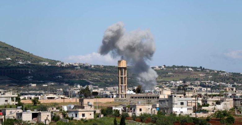 Hama'nın kuzeybatısında şiddetli çatışmalar