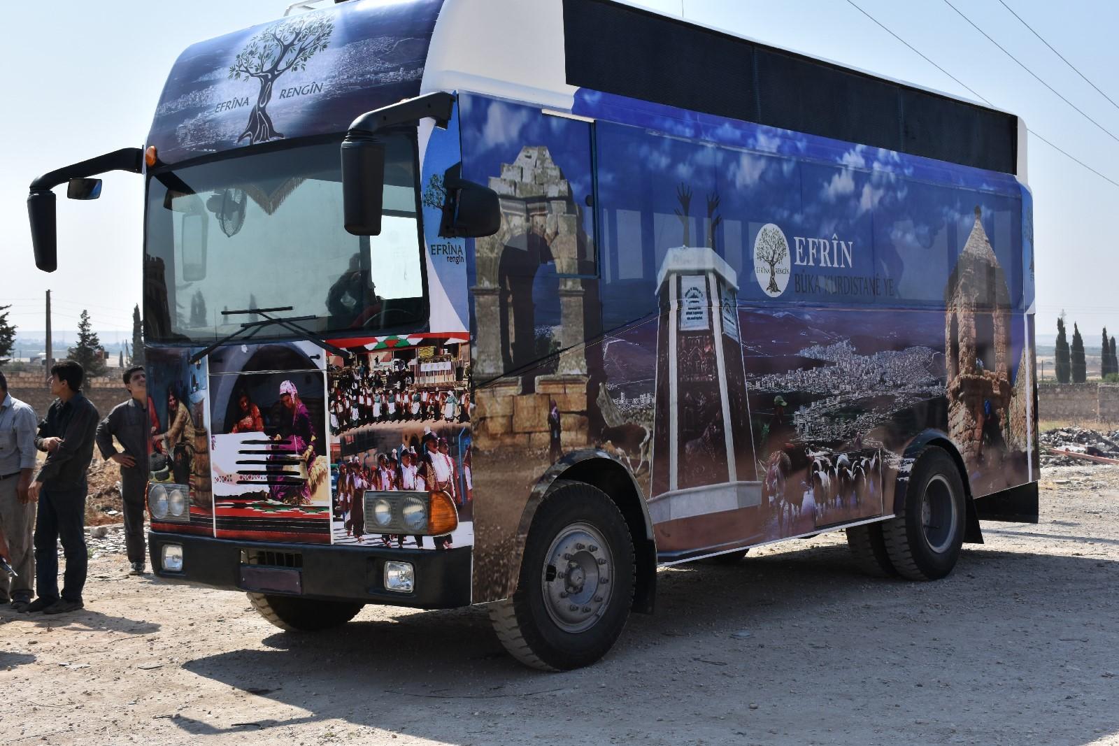 Efrîn'e Çağın Direnişi Otobüsü ile dönecekler