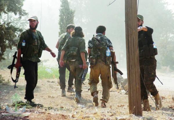 Türk devleti çeteleri rejim üslerine saldırdı