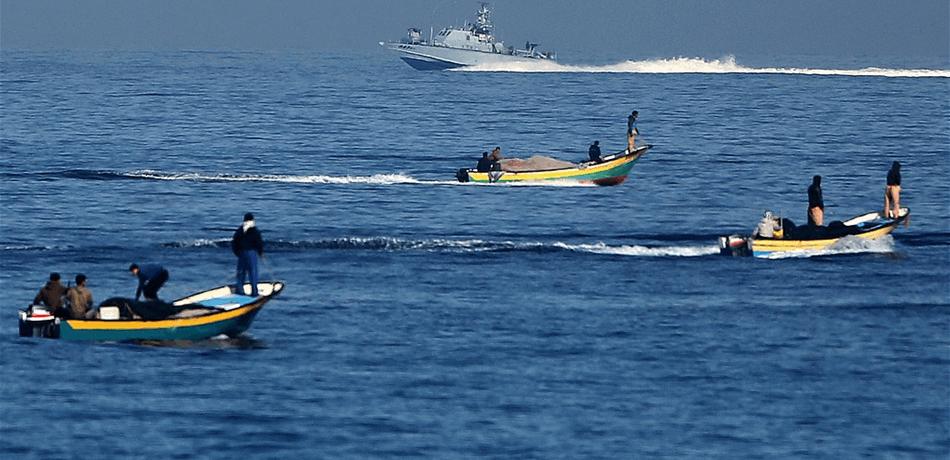 Filistinli balıkçıların avlanmasına izin verildi
