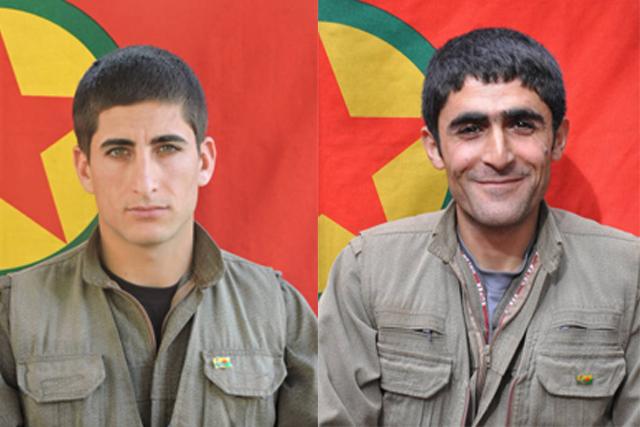 Tendürek'te şehit düşen dört gerillanın kimlikleri açıklandı