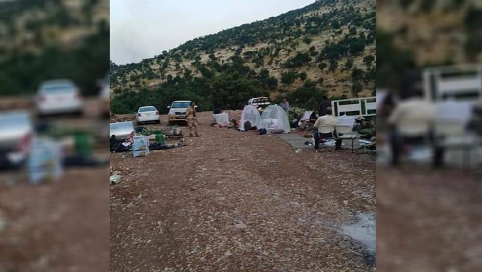 KDP peşmergeleri Türk devletinin askeri üslerini koruyor