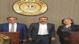 Kuzey Suriye heyeti Mısır'a gitti