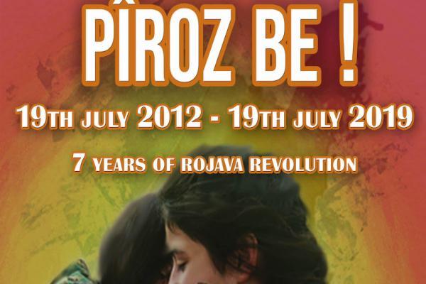 Rojava devriminin yıldönümünde sosyal medya kampanyası