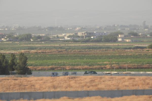 Girê Spî sınırında Türk ordusu hareketliliği