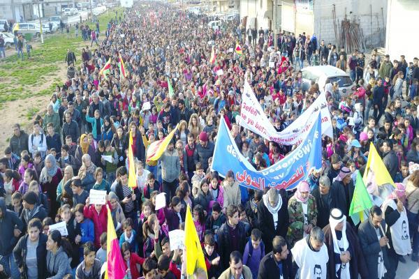 Ortadoğu için bir ilk: Rojava Devrimi