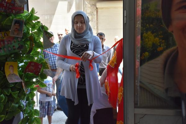 PYD Halep'te Öcalan'ın kitaplarından fuar açtı