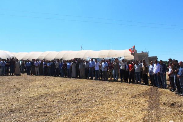 Kobanê'deki canlı kalkan eylemi 5'inci gününde: İşgale geçit vermeyeceğiz