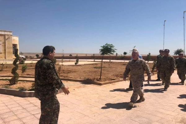 QSD Genel Komutanı, ABD'li yetkililerle görüştü