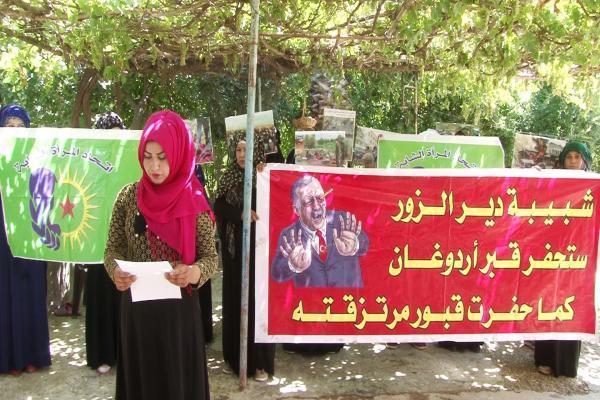 Derazor'daki kadın meclisleri işgal tehditlerini kınadı