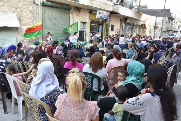 Kongreya Star Halep'te üç ayrı toplantı gerçekleştirdi