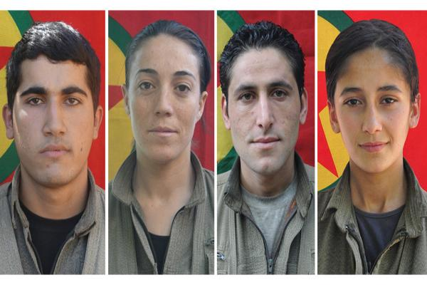 Xakurkê'de şehit düşen 4 gerillanın kimlikleri açıklandı