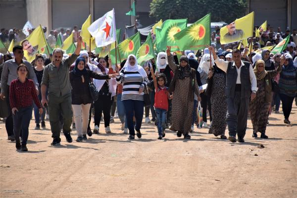 Canlı kalkan eylemcileri: İşgalcilerin amaçlarına ulaşmasına izin vermeyeceğiz