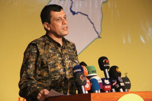 Ebdî: Toplantımız özgür Suriye'nin garantisi askeri gücün temeli olacak