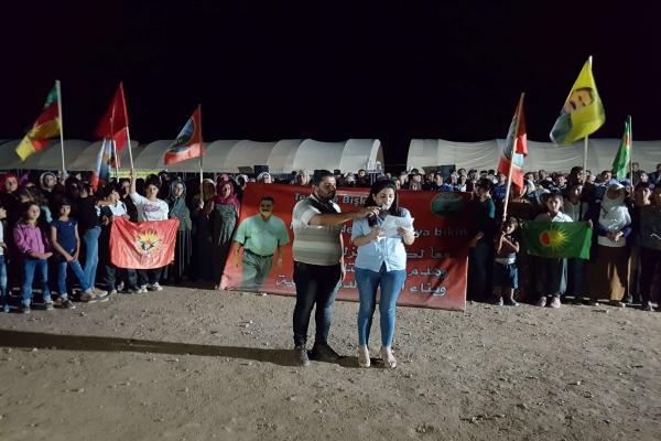 Kobanê'deki canlı kalkan eylemi sona erdi