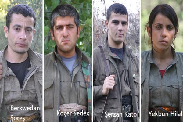 HPG, Şırnak'ta şehit düşen gerillaların kimliğini açıkladı